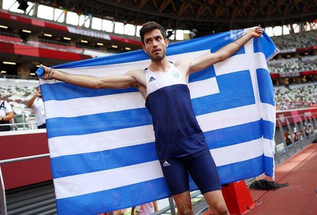 دومین طلای یونان در پرش طول ثبت شد